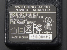 AC / DC 5V 2A Switching Power Supply UL Listed