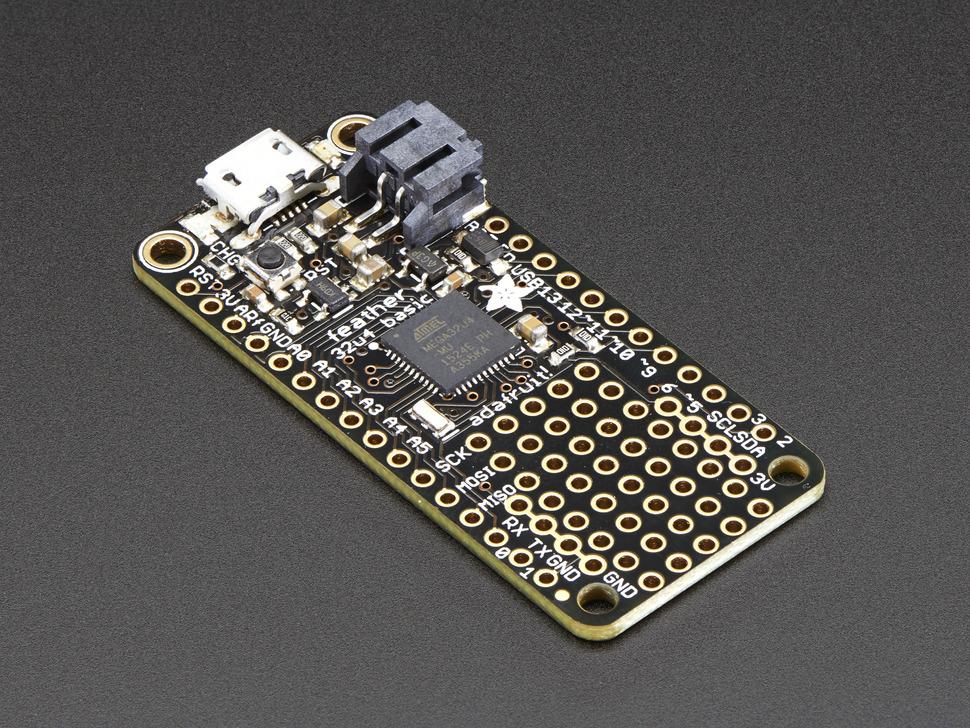 Feather 32u4 Basic Proto Adafruit
