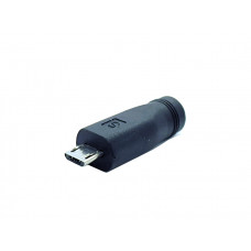 MicroUSB to 5-5-2-1mm DC Barrel Jack Adapter