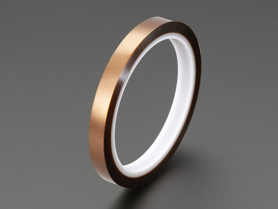 High Temperature Polyimide Tape - 10mm wide x 33 meter roll