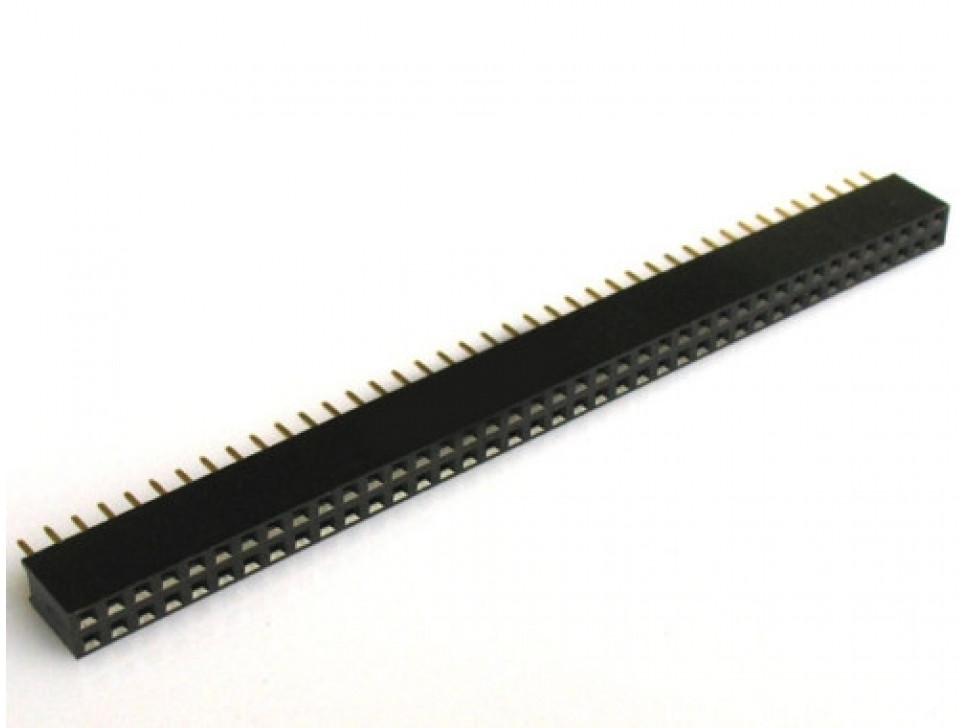 Female Header 2.54mm 2x40 Pin 5 PCS