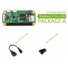 Raspberry Pi Zero WH Budget Pack Includes Pi Zero
