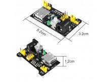 Breadboard Power Supply 3.3V or 5V with USB Port
