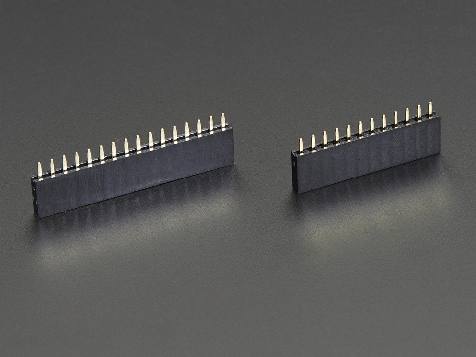 Feather Header Kit 12-pin and 16-pin Female Header Set