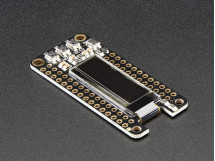 OLED FeatherWing 128x32 OLED Add-on For All Feather Boards