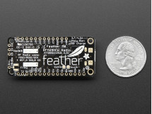 Feather M0 RFM69HCW Packet Radio 868 or 915 MHz RadioFruit Adafruit