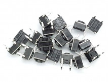 Tactile Button Switch 6mm x 20 pack