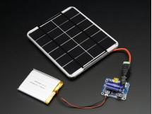 USB / DC / Solar Lithium Ion/Polymer charger v2