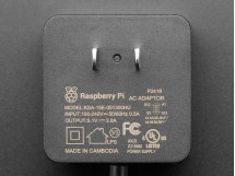 Raspberry Pi 4 Official Power Supply 5.1V 3A with USB C 1.5 meter long