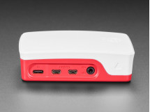 Raspberry Pi 4 Official Case Red White