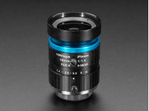 16mm 10MP Telephoto Lens for Raspberry Pi HQ Camera - 10MP