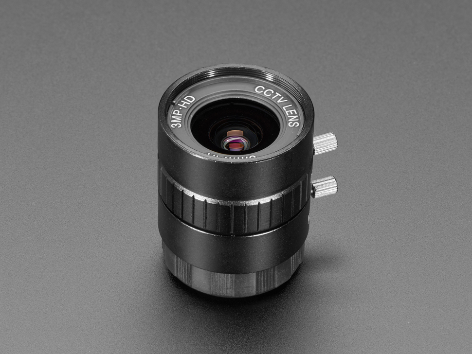 6mm 3MP Wide Angle Lens for Raspberry Pi HQ Camera - 3MP