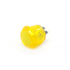 Arcade Button 30mm Translucent Yellow