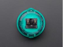 Arcade Button 30mm Translucent Green