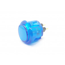 Arcade Button 30mm Translucent Blue