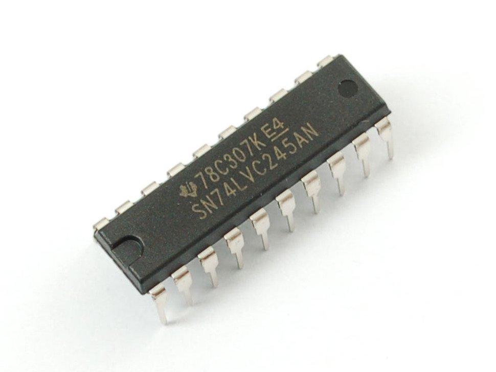 74LVC245 Breadboard Friendly 8-bit Logic Level Shifter