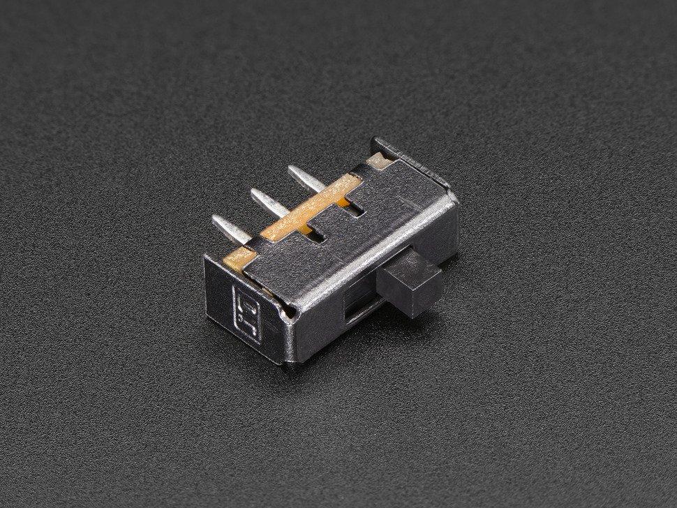 SPDT Slide Switch Breadboard-friendly 10PCS