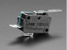 Switch Micro with Lever 2 Terminal