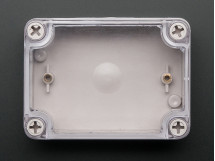 Arduino Project Enclosure Weatherproof Small Plastic Clear Top