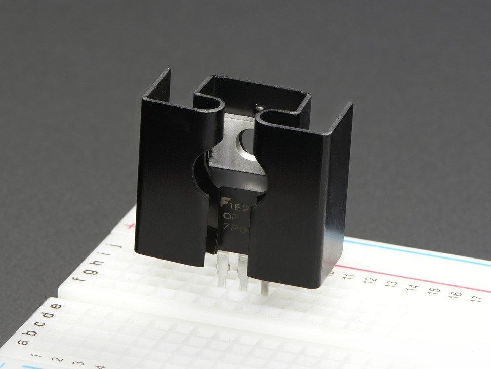 Heatsink TO-220 Clip-On