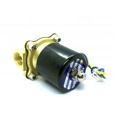 Solenoid Brass Liquid Valve 12V 1 / 2 NPS