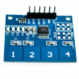 Capacitive Touch Module 4 Channel TTP224