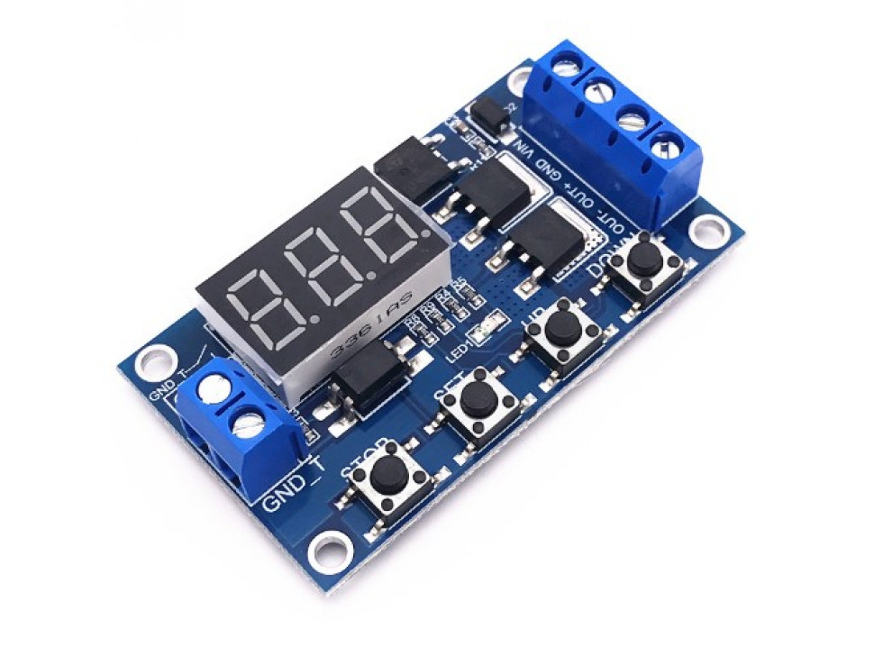 MOD-130 Programmable Timer with Solid State Switch Output