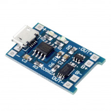 Micro USB Battery Lithium 18650 Charging Board TP4056 5V 1A