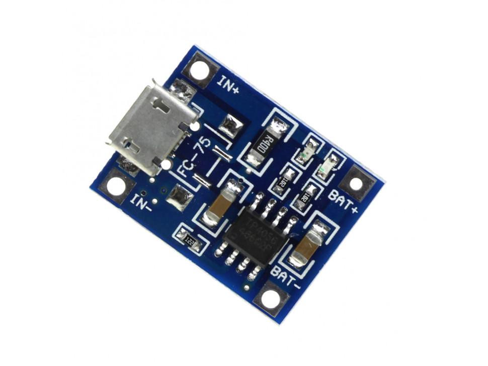 TP4056 Micro USB Battery Lithium 18650