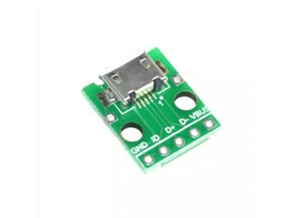 Micro USB Breakout Board