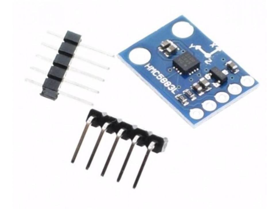 Triple Axis Electronic Magnetoresistive Compass HMC5883L