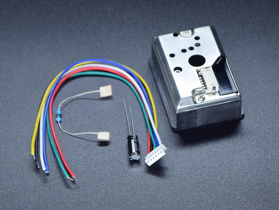 Dust Sensor GP2Y1010AU0F for Arduino