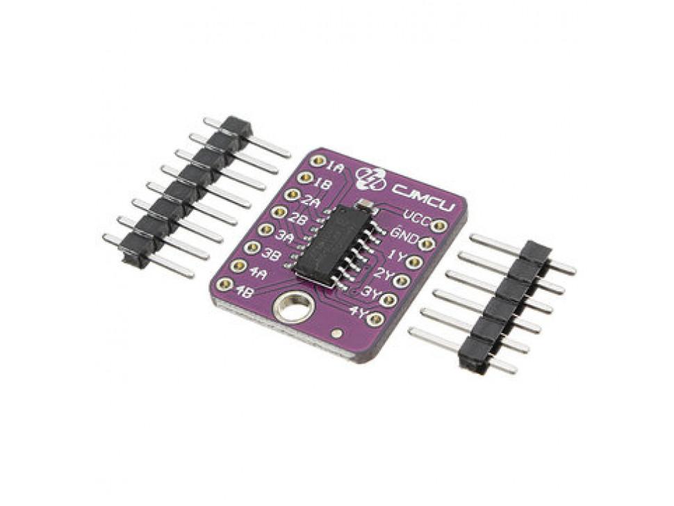 NAND gates SN74LS00 Quad 2-input positive Module