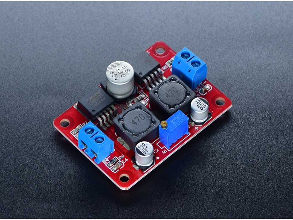 DC DC Boost And Buck Voltage Converter LM2577 LM2596