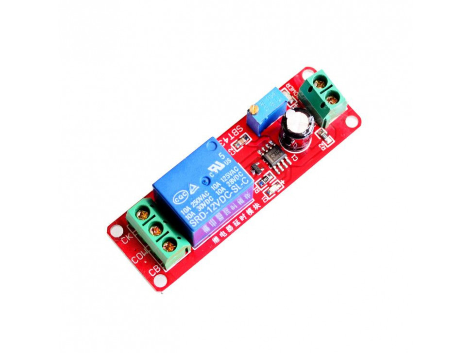 Relay 12V Timer Delay NE555 Module