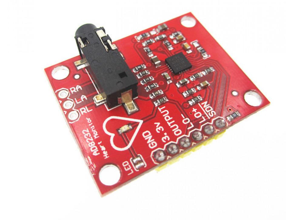 ECG Heart Pulse Sensor Module AD8232