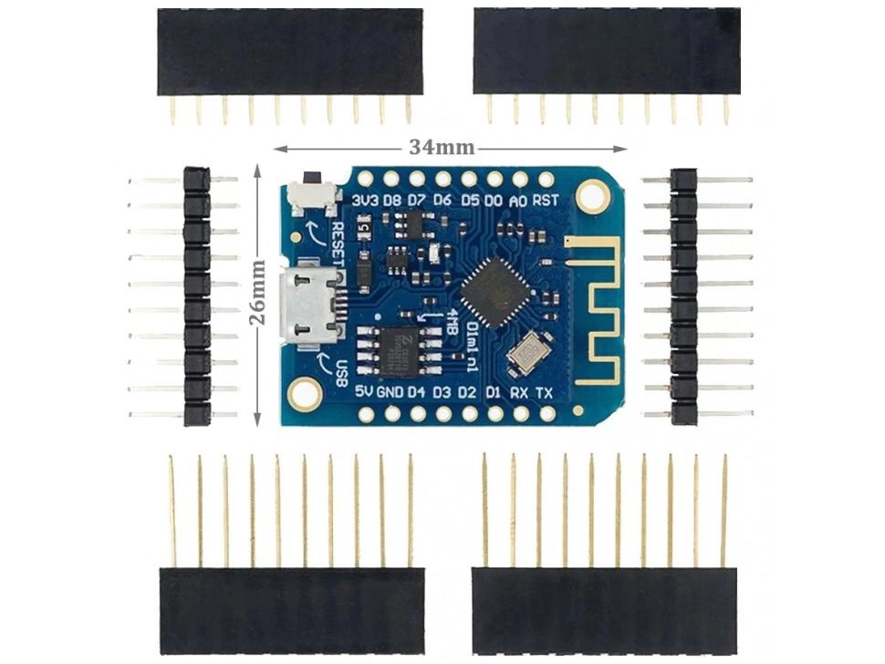 WeMos D1 ESP-12 USB Mini Lite WIFI ESP8266