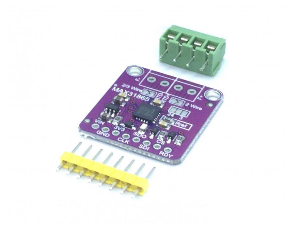 MAX31865 RTD Platinum Resistance Temperature Sensor