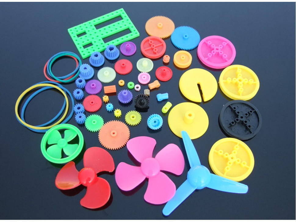 Gears Belt Pulley Shaft Sleeve Colorful Plastic