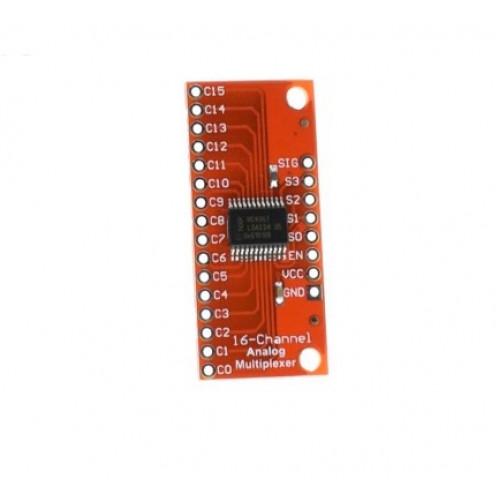 High Speed Analog / Digital MUX Breakout CD74HC4067 for Arduino