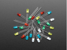 LED 5mm 25PCS Red / Green / Yellow / Blue / White