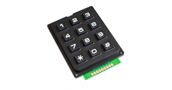 Keypad 4x3 Matrix Module Plastic Keys for Arduino
