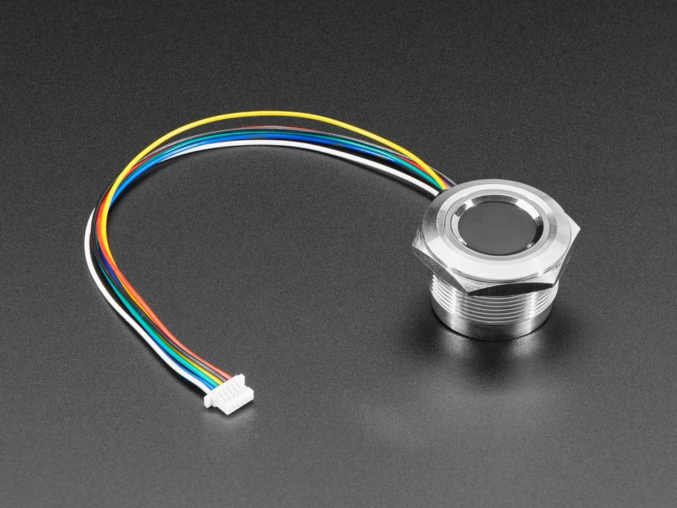 R503 New Circular Round Two-Color Ring Indicator LED Control DC3.3V MX1.0-6pin Capacitive Fingerprint Module Sensor Scanner