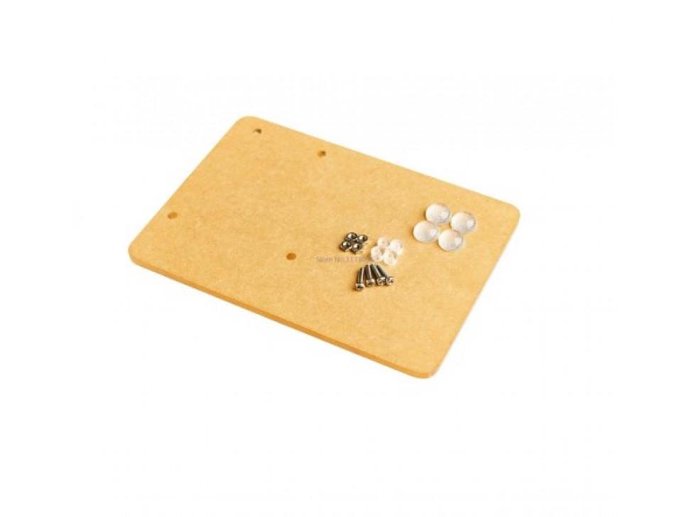 Arduino Plastic Mounting Plate Breadboard Rubber Feet
