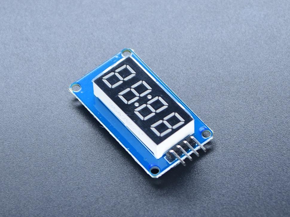 LED 4 Bits Display Module TM1637