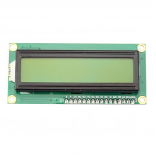 LCD I2C 1602 Display Module Yellow