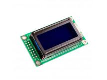 LCD 0802 Character Display Module 5V Blue