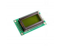 LCD 0802 Character Display Module 5V Green