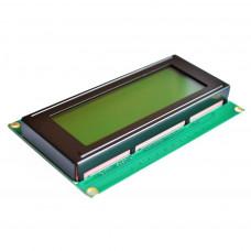 LCD 20x4 Character Module Yellow Backlight