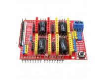 CNC Shield V3.51 GRBL v0.9 compatible Uses Pololu Drivers Arduino